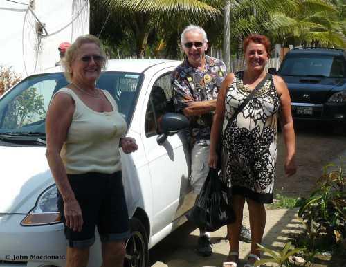 Ken, Lyndel and Lorraine