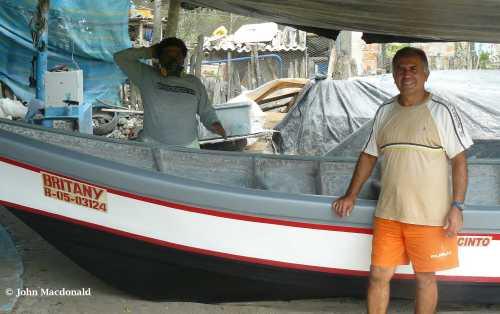 Oscar with barca