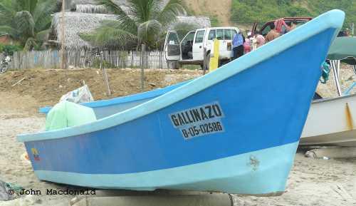 Luis' boat