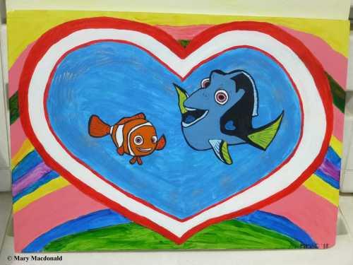 Nemo and Dora