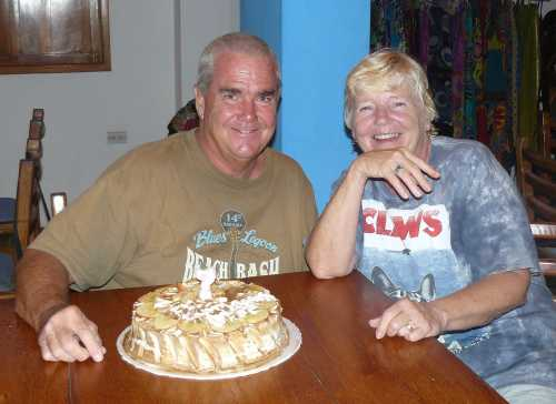 Mary and John on Birthday