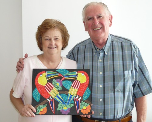 Glenda and Bob with Picture 1