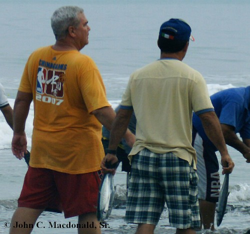 John with the fishermen  in 2009