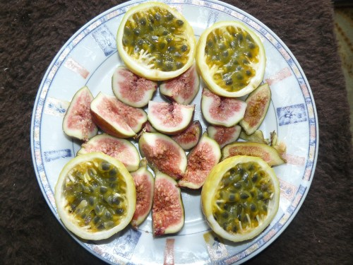 Figs and Maracuya