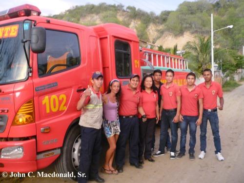 Firemen Arrive
