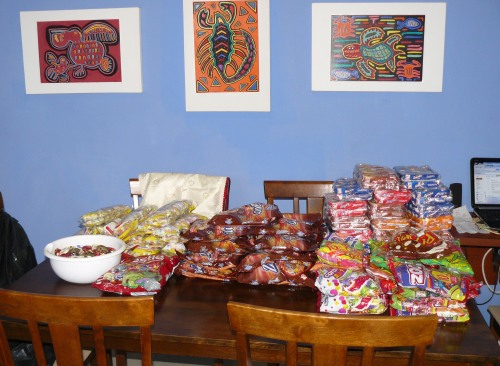 Candy for Santa Teresa