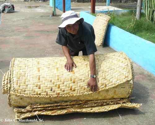 Jose with mats